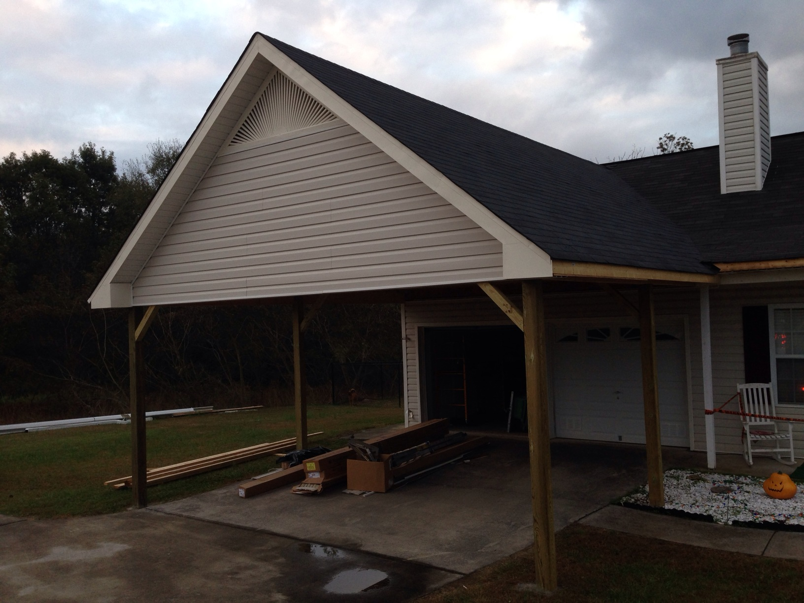Cost: Depends On The Foundation And Footers, Generally Costs Between $3,000  And $15,000 To Have A Carport Built, Including Labor And Materials. Average  Cost ...