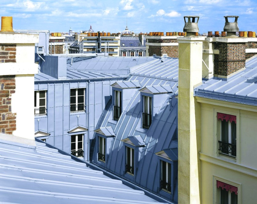 Zinc the dark horse of metal roofing zinc roof costs for Mansard roof pros and cons