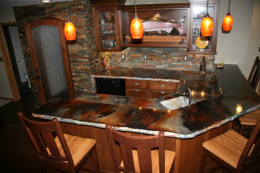 A Guide To Concrete Kitchen Countertops Remodeling 101: Top 15 Countertops Costs, Plus Pros & Cons 2017