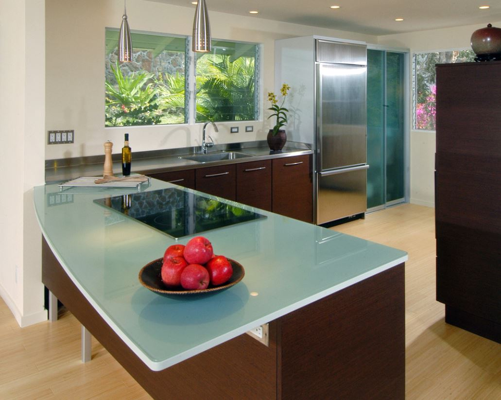 contemporary-kitchen-glass-top - RemodelingImage.com ...