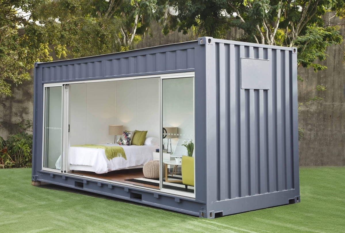 top 15 shipping container homes in us how much they cost. Black Bedroom Furniture Sets. Home Design Ideas