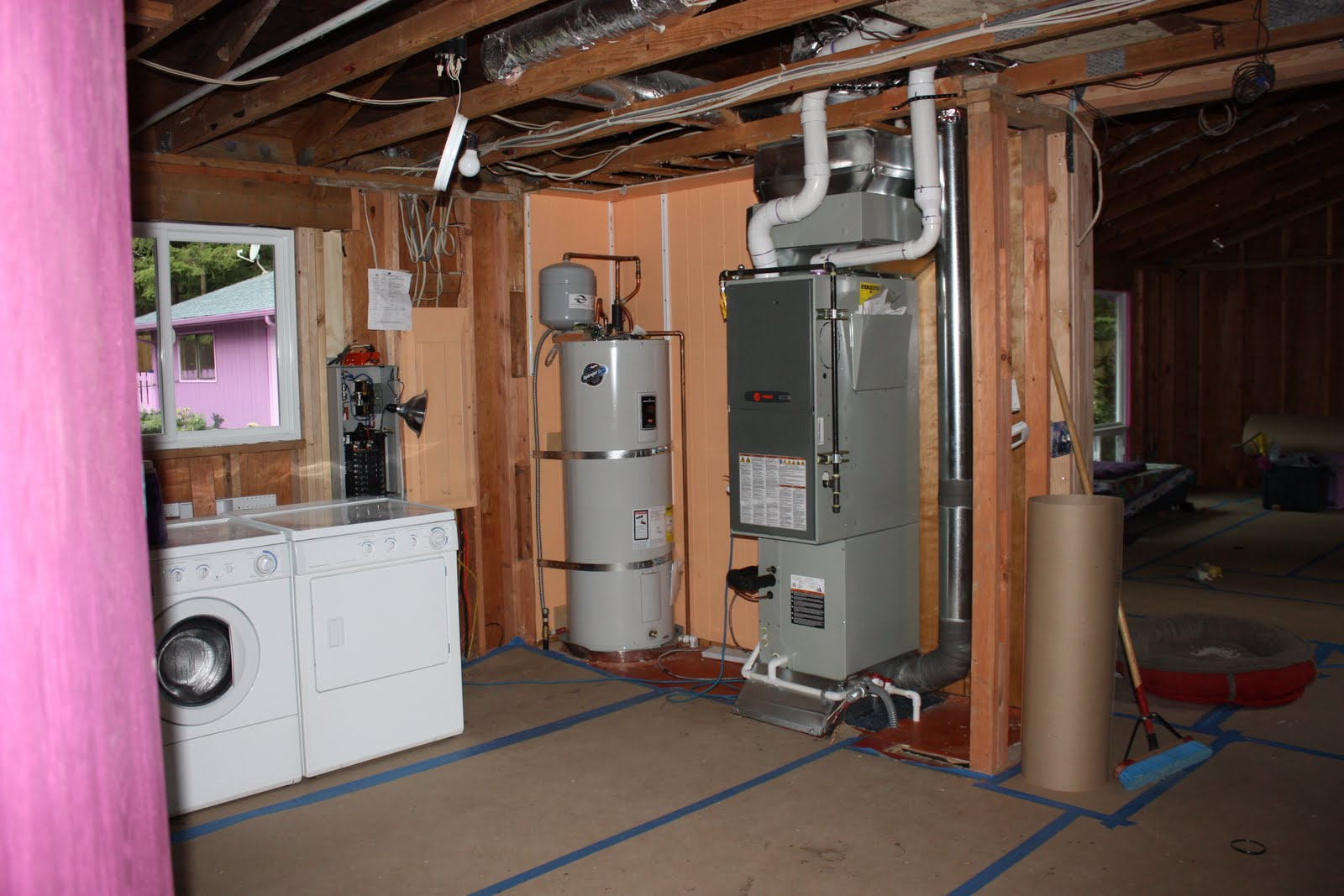 How to connect a gas boiler