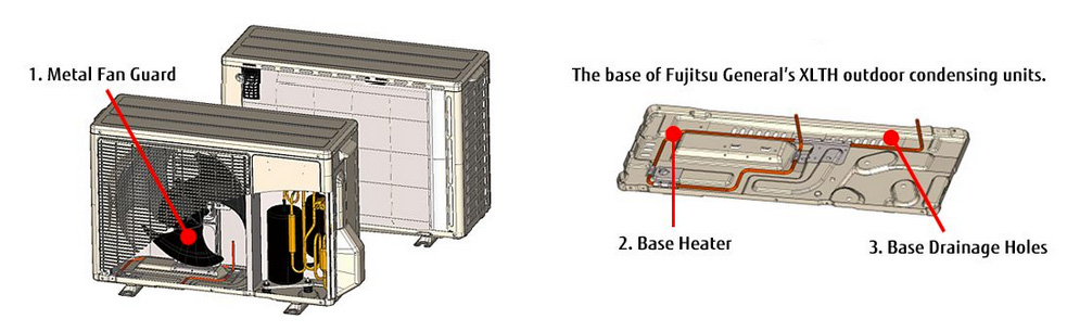for example, the fujitsu halcyon xlth extra low temp system is an  impressive 33 seer ductless system that provides heating in temperatures as  low as -5