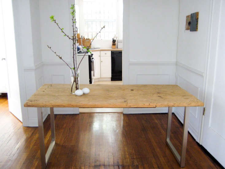 DIY An OldMeetsNew Dining Table for Under 125