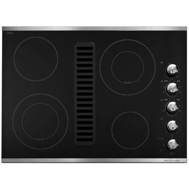 KitchenAid 30 In Downdraft Vent Ceramic Glass Electric