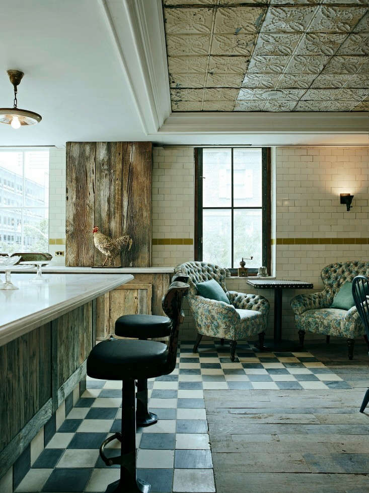 leather wingback chairs electric lift chair nz creatives in canada: soho house toronto: remodelista