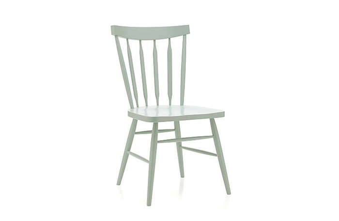 Willa Mint Side Chair: Remodelista
