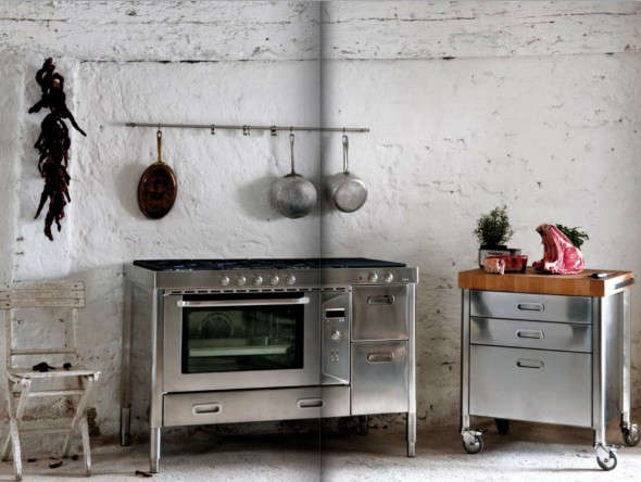RaceCarStyle Appliances for Compact Kitchens  Remodelista