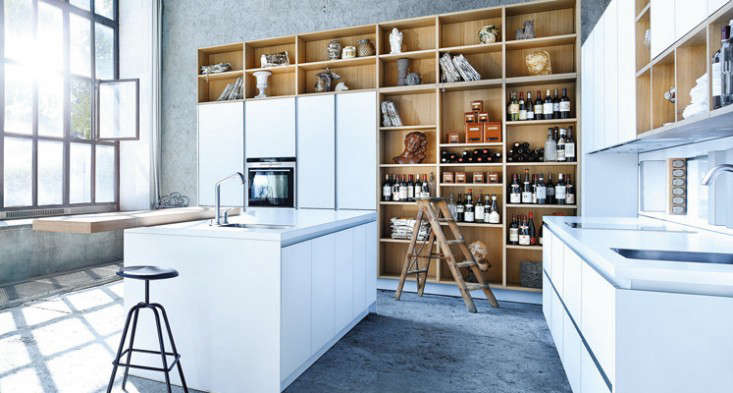 kitchen cabinet organization best flooring for a good küchen: 9 german systems - remodelista