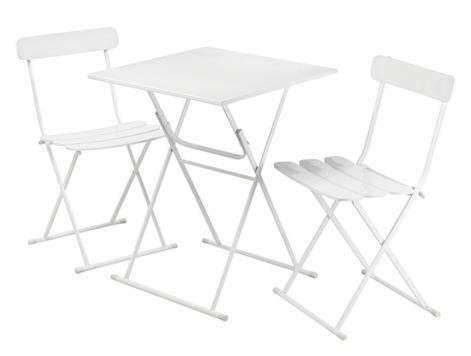 3–pc. Metal Bistro Set: Remodelista