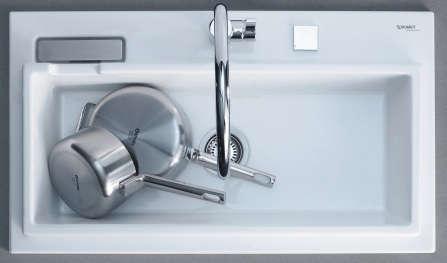 starck k kitchen sink by duravit