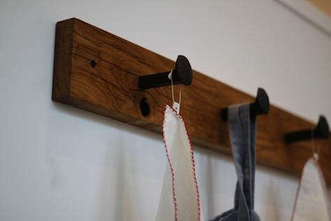 small coat rack