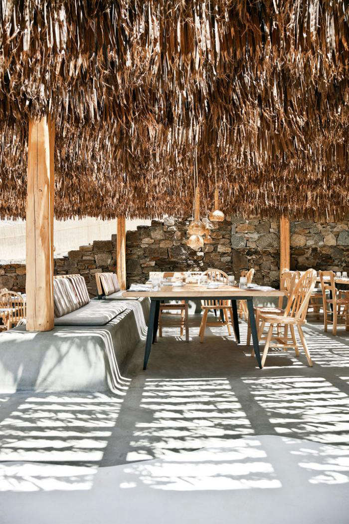 A Greek Taverna On The Beach Breeze Included Remodelista