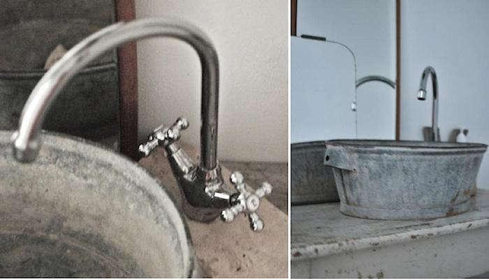 DIY Galvanized Bucket as Bathroom Sink Remodelista