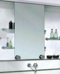 Bath: Barn Door Style Sliding Cabinet Mirrors: Remodelista