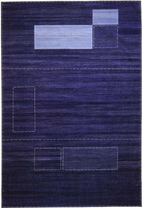 dwr sleeper sofa sofas reviews 2016 walls, windows & floors: denim rugs by madeline weinrib ...