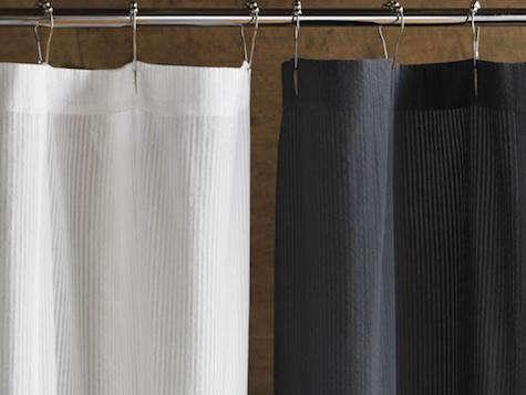 bath new seersucker shower curtains