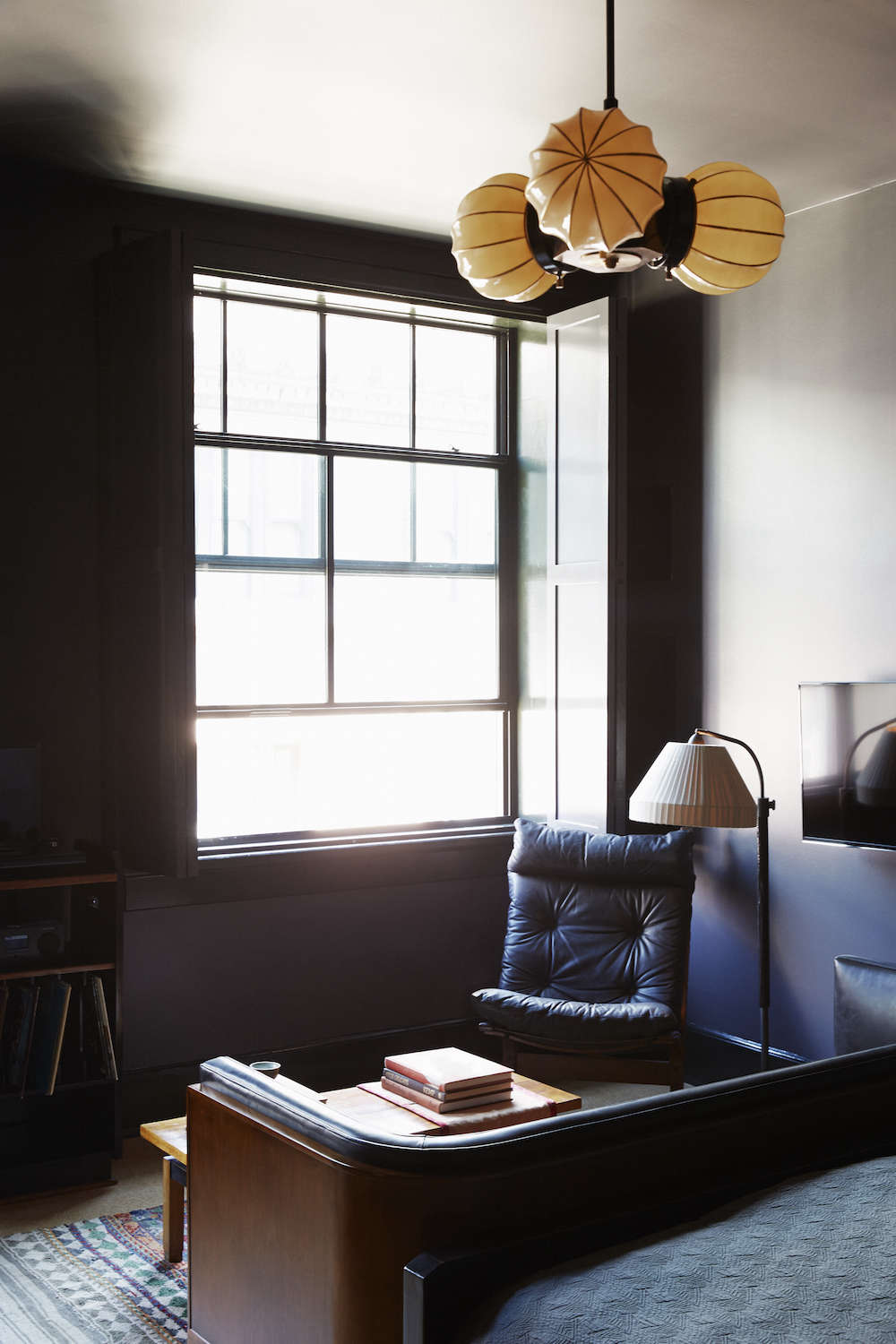 dark green leather sofa 3 piece modern large tufted grey microfiber sectional with ottoman hotels & lodging: the ace hotel in new orleans - remodelista