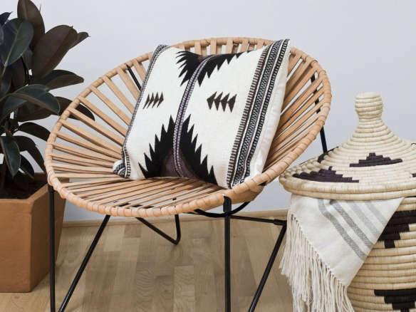 aldama chair black natural