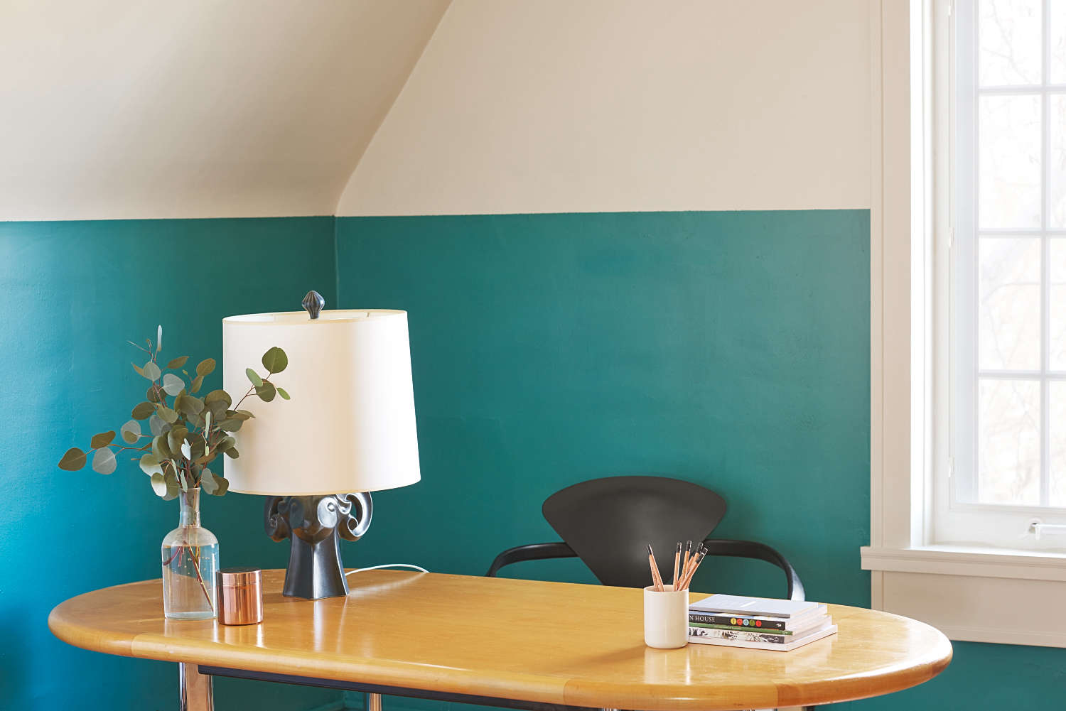 blu dot sofa karlstad bed uk a vibrant office update from farrow & ball - remodelista
