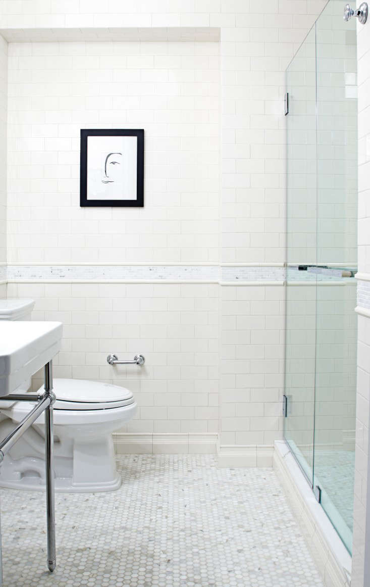 title | White Bathroom Tile