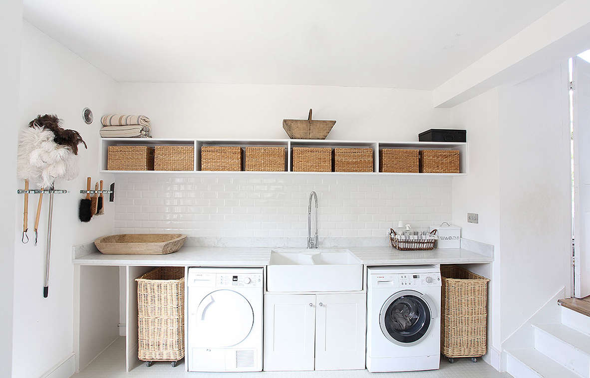 Steal This Look A WellEquipped Laundry Room in Somerset