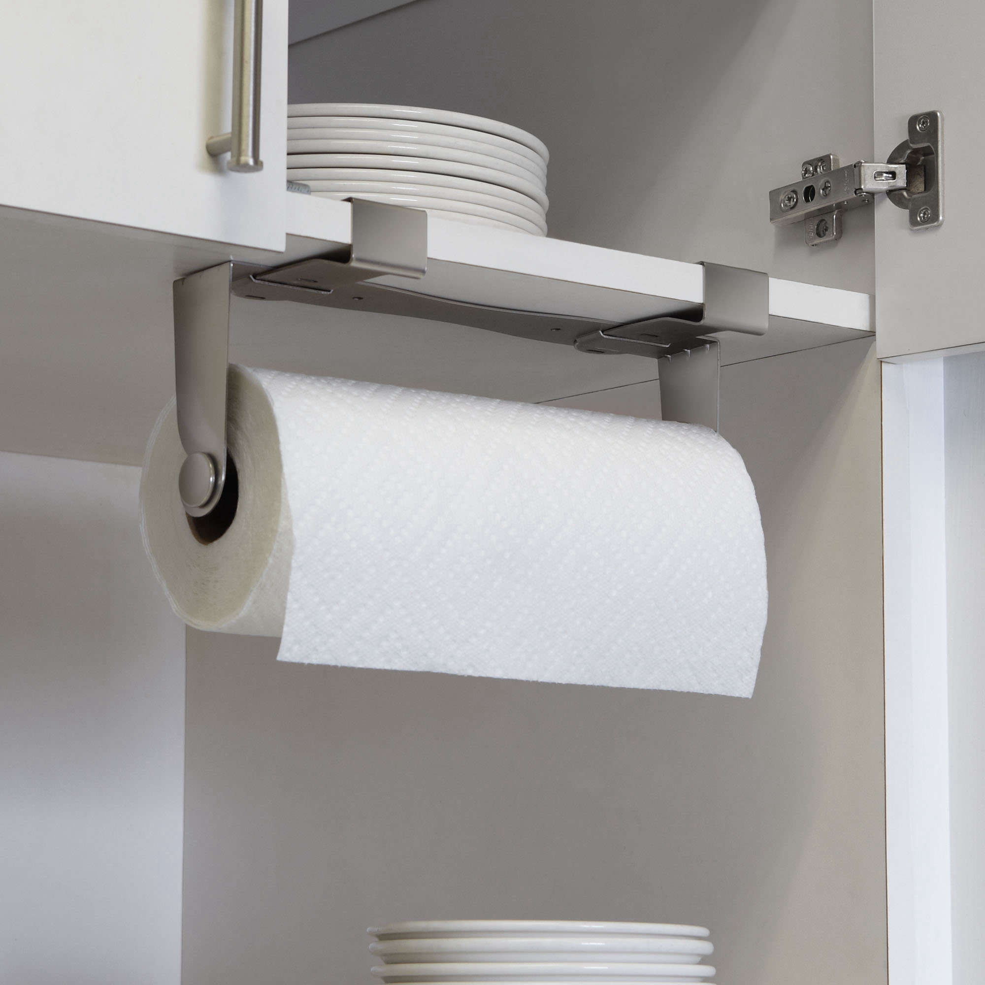kitchen paper towel holder cabinet knob 5 favorites the no drill instant