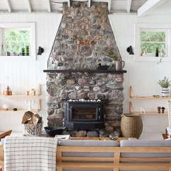 Small Kitchen Table And Chairs Canada Massage Chair Cozzia O Canada: Mjölk's Renovated Scandi-style Cabin On A Lake - Remodelista