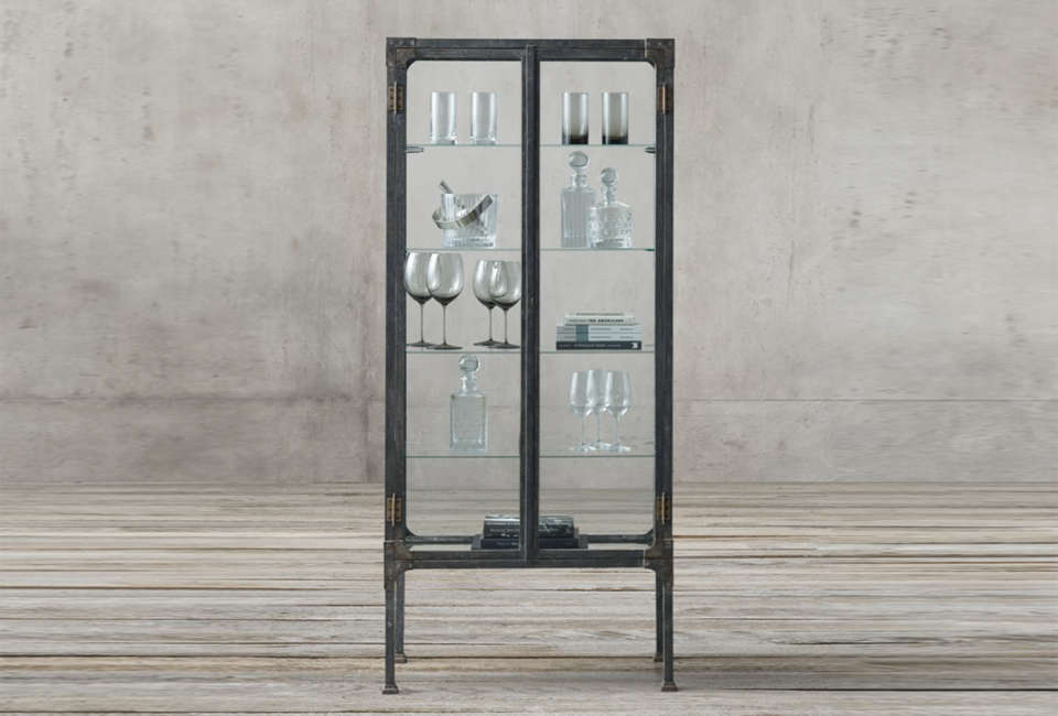 10 Easy Pieces SteelFramed Display Cabinets  Remodelista