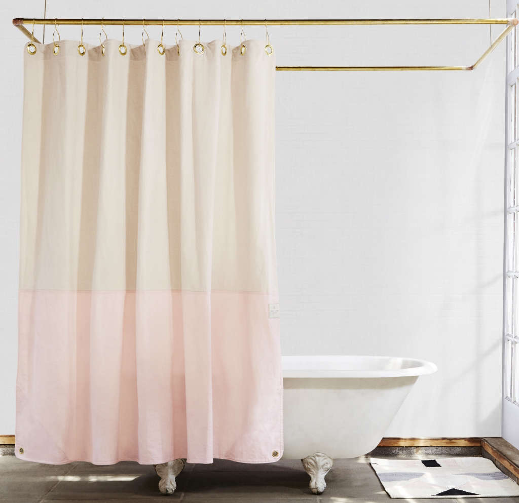 The Orient  Moon Jelly Organic Cotton Canvas Curtain