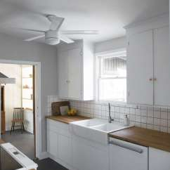 Flat Front Kitchen Cabinets Small Remodel Before And After A Design Duo 39s Whole House Overhaul For