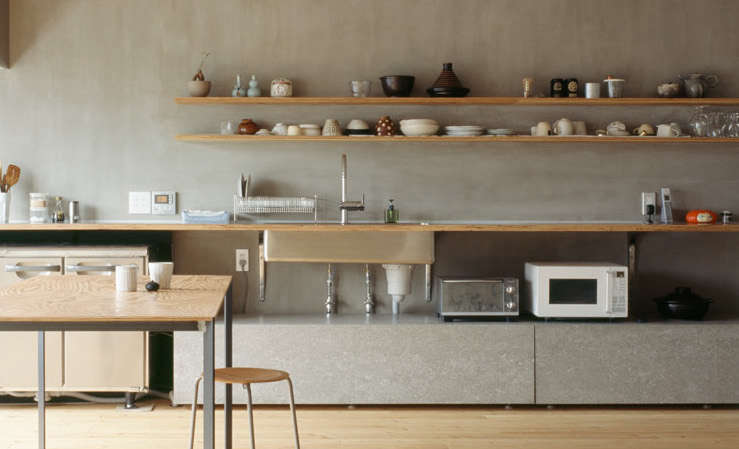 Steal This Look A Restaurant Supply Kitchen in Tokyo  Remodelista