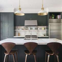 Green Kitchen Cabinet Doors Hanging Rack An Unfussy Brooklyn Townhouse Remodel From Architect