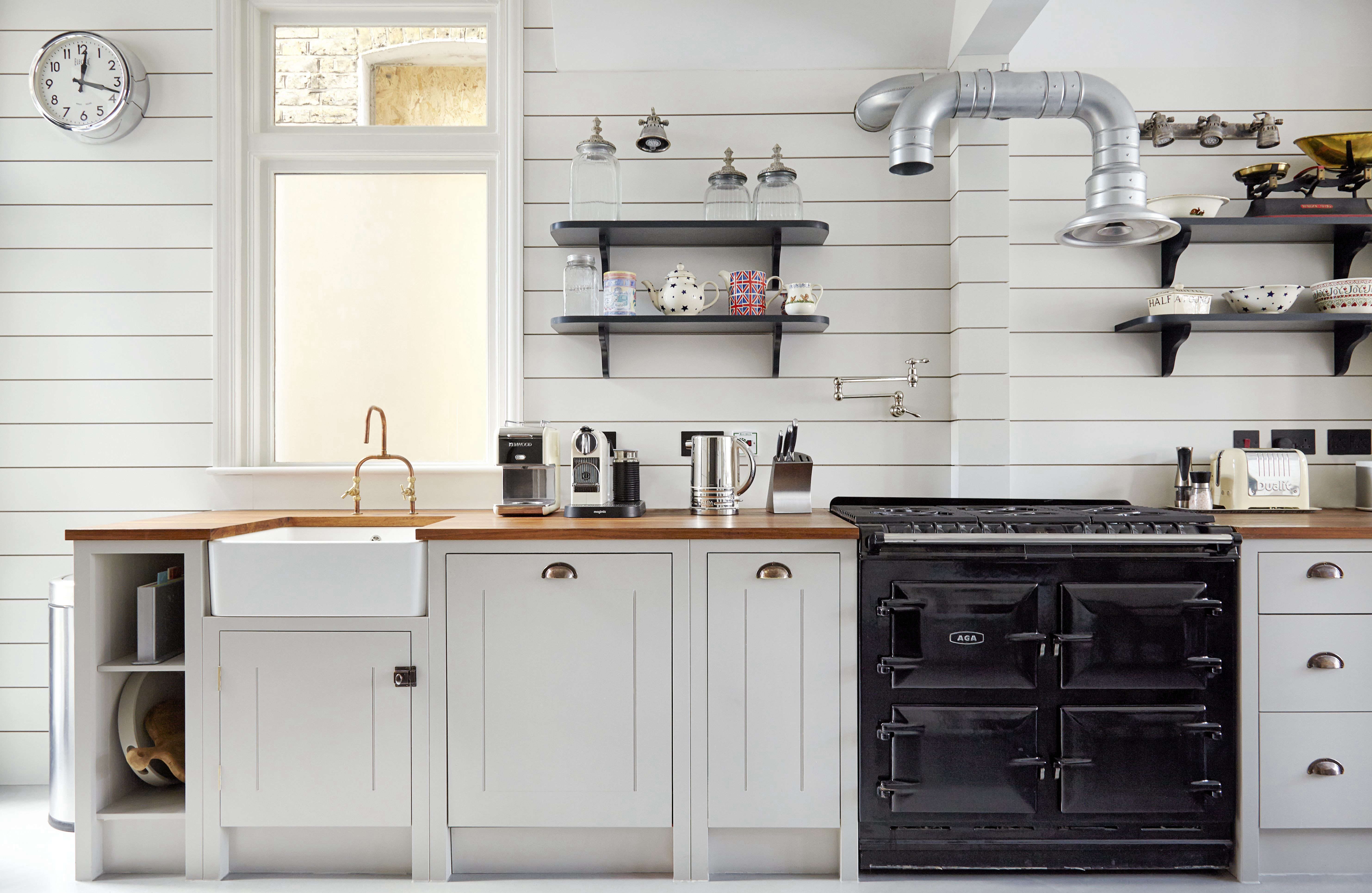10x10 kitchen remodel cost small design ideas shiplap wood paneling in a classic english