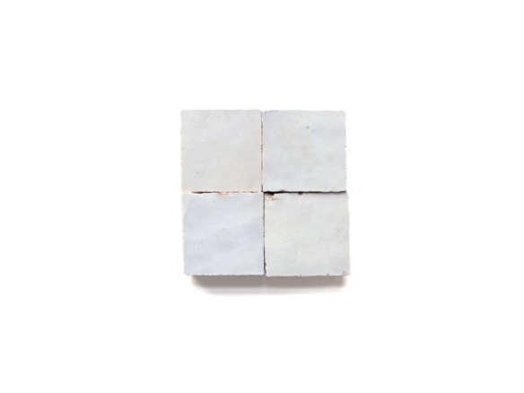zellige terracotta weathered tile white