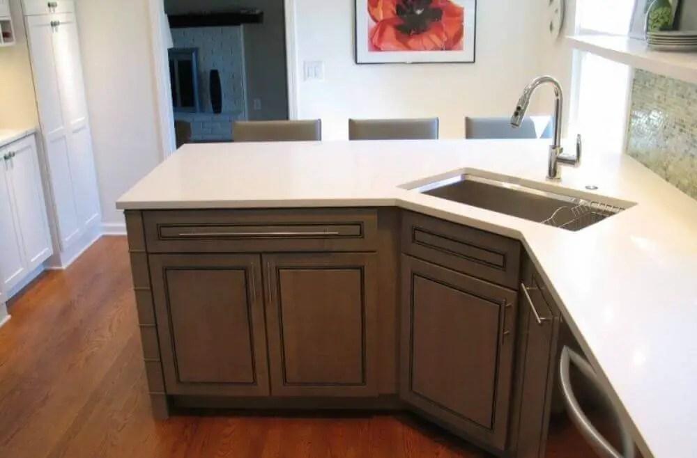 15 awesome corner kitchen sink ideas