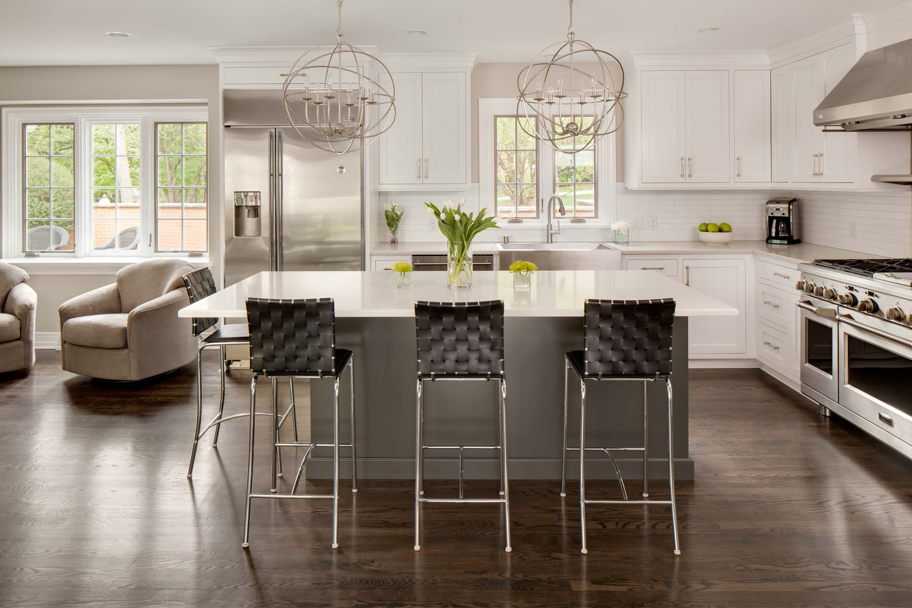 kitchen remodle modern appliances sazama home remodeling improvement additions milwaukee remodel with