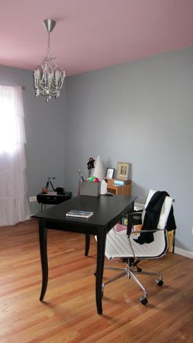 Office chandelier.
