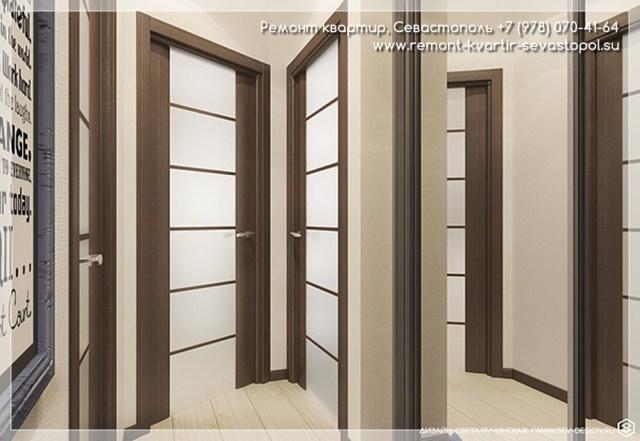 Дизайн проект комнатной квартиры