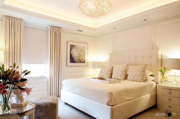 ivory and beige bedroom 100 лучших идей для белой спальни на фото   Интерьер и Дизайн