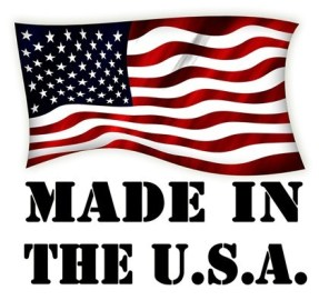 PROUDLY MADE IN THE USA.