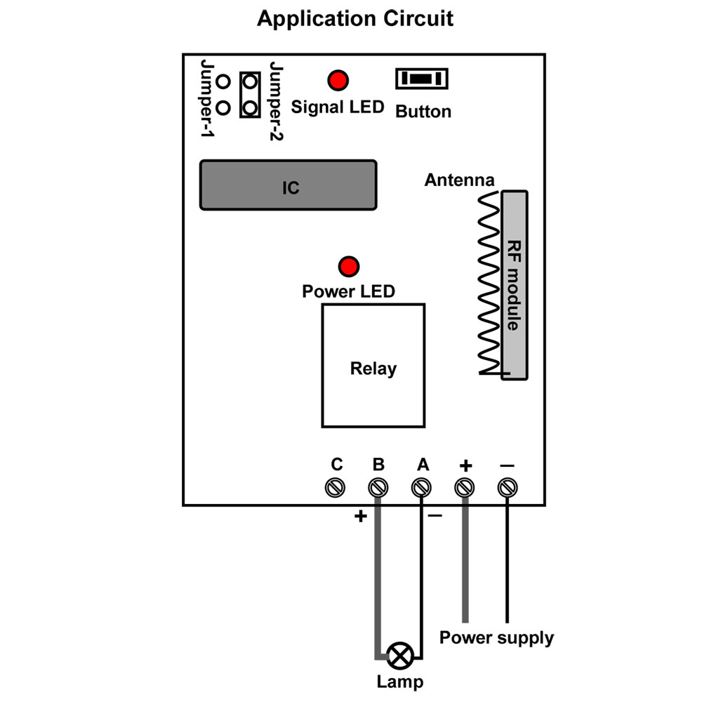 Wiring Diagram Remote Control Led Light Switch : 46 Wiring