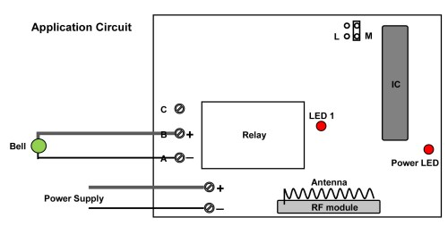 small resolution of circuit the wireless wall mounted doorbell switch