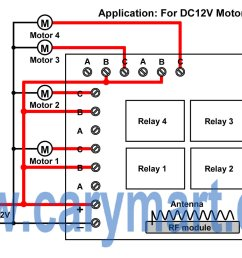 702 dedicated remote control transmitter receiver integrated http wwwturborx7com images technediagram2jpg [ 1719 x 1044 Pixel ]