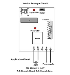 wireless remote control circuit diagram [ 1000 x 1000 Pixel ]