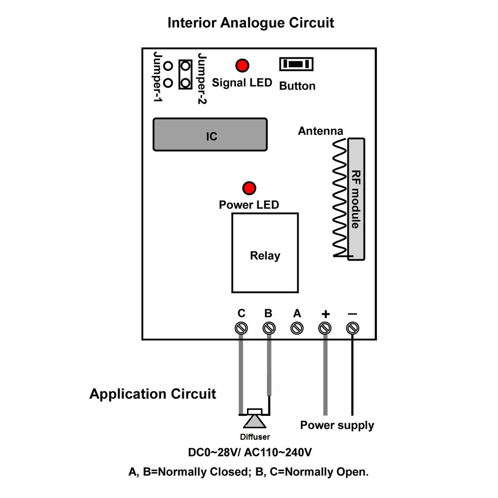 hight resolution of  wireless remote control circuit diagram