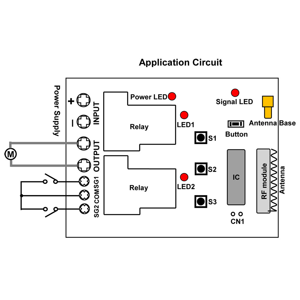 I'm Yahica: Rf Remote Circuit Diagram For Kids Car