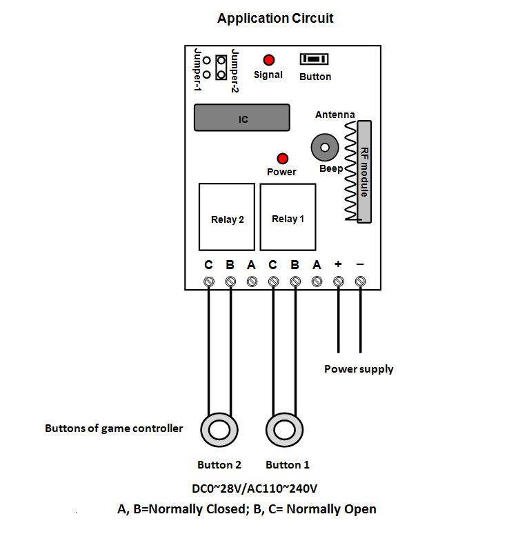 How To Long Range Remote Control Two Buttons On A USB