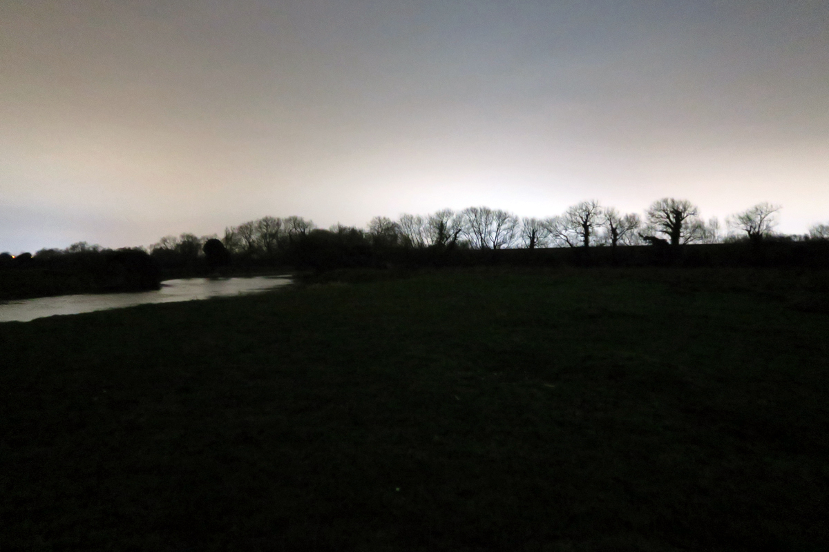 Staines moor at dusk