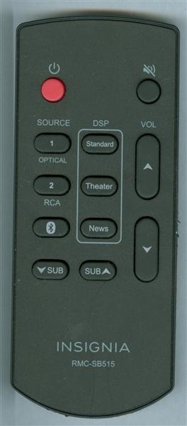 INSIGNIA RMC SB515 Genuine OEM Original Remote